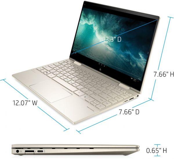 """HP Envy x360 13M i7 11th Gen / 8GB RAM / 512GB SSD / 13.3"""" FHD 3"""